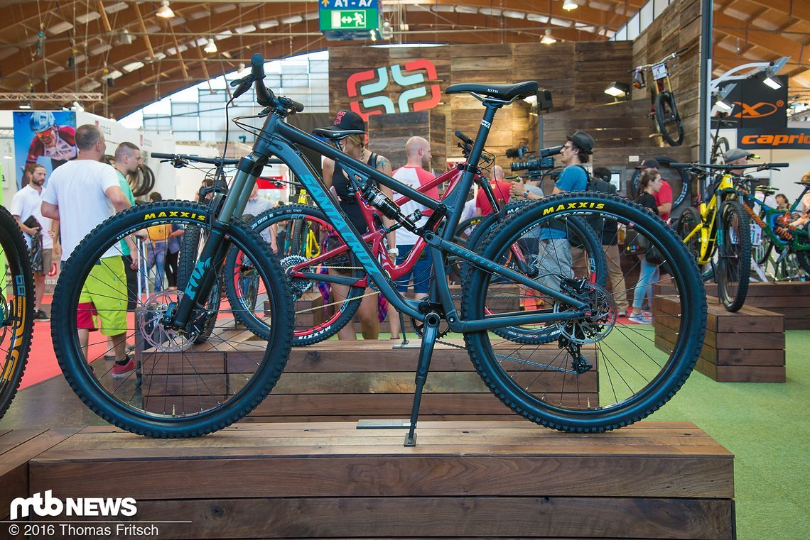 Santa Cruz Bronson in der Alu-Version