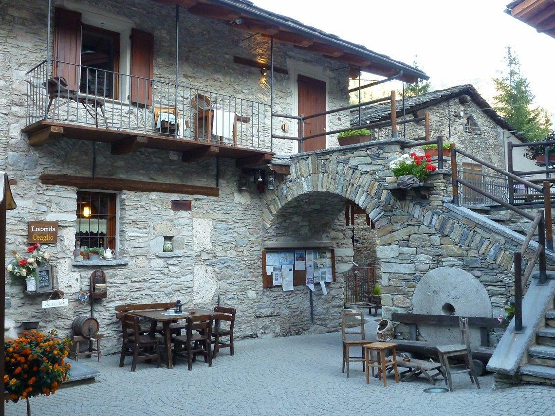Die Pensione Ceaglio im Valle Maria ist die beste Adresse um die Umgebung zu erkunden. http://www.ceaglio-vallemaira.it/index.php