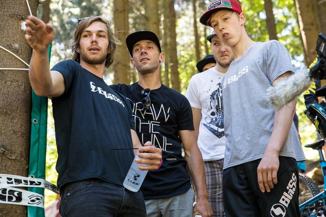 Fabien Barel und die Cube Global Squad waren beim iXS Downhill Cup dabei