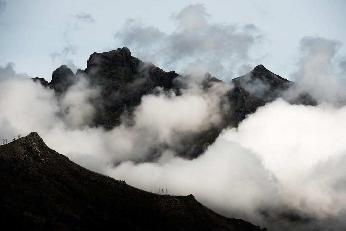 Das Wetter in Madeira ist ziemlich unbeständig, da die Insel mitten im Atlantik liegt