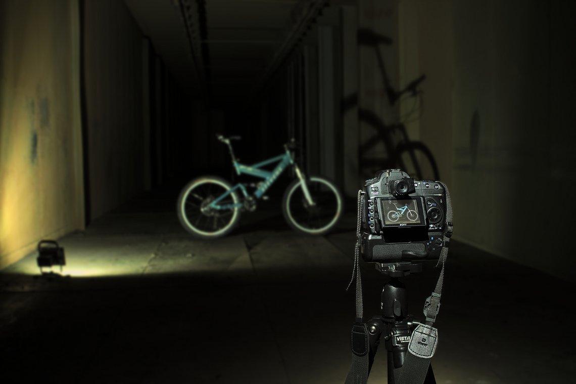 Shooting: mein Rad fühlt sich wie ein Rockstar oder so