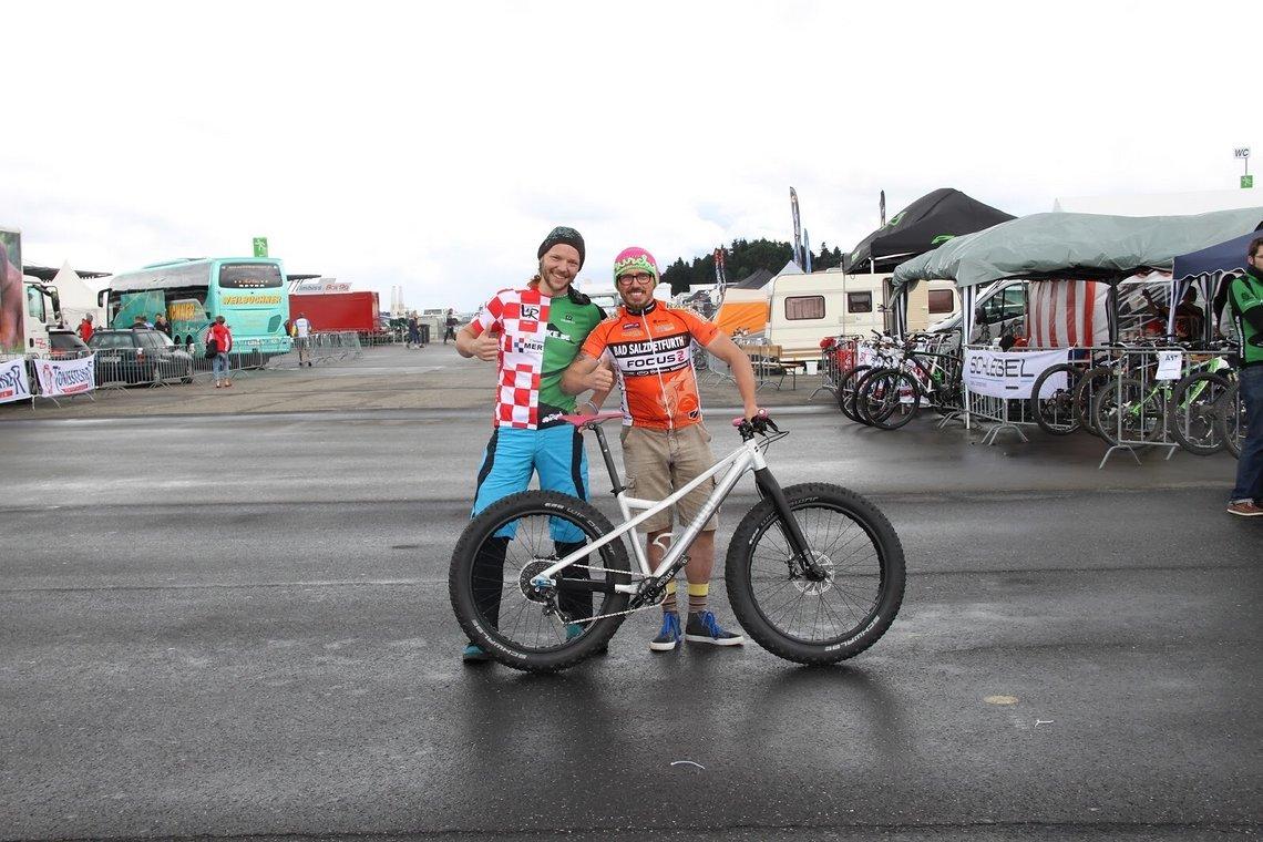 Eifelbikeconnection goes fat. Die Laimischrider, Vennbiker und die Eifel-Rapiros rocken den Ring