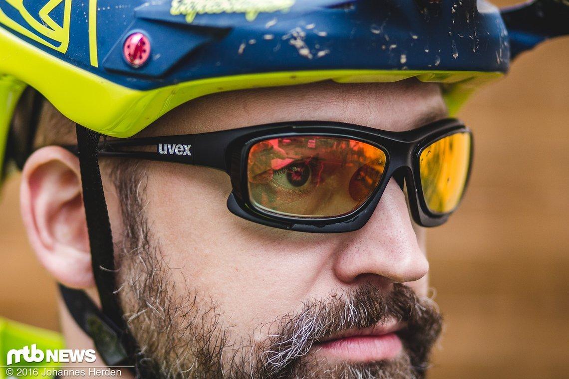Die relativ hellen Gläser sorgen für ein breitbandiges Einsatzspektrum
