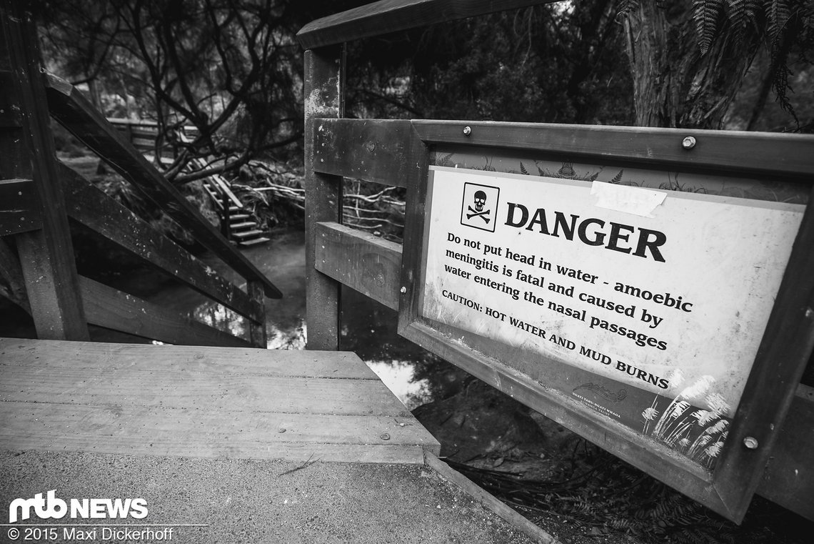 Danger! Geothermale Aktivitäten