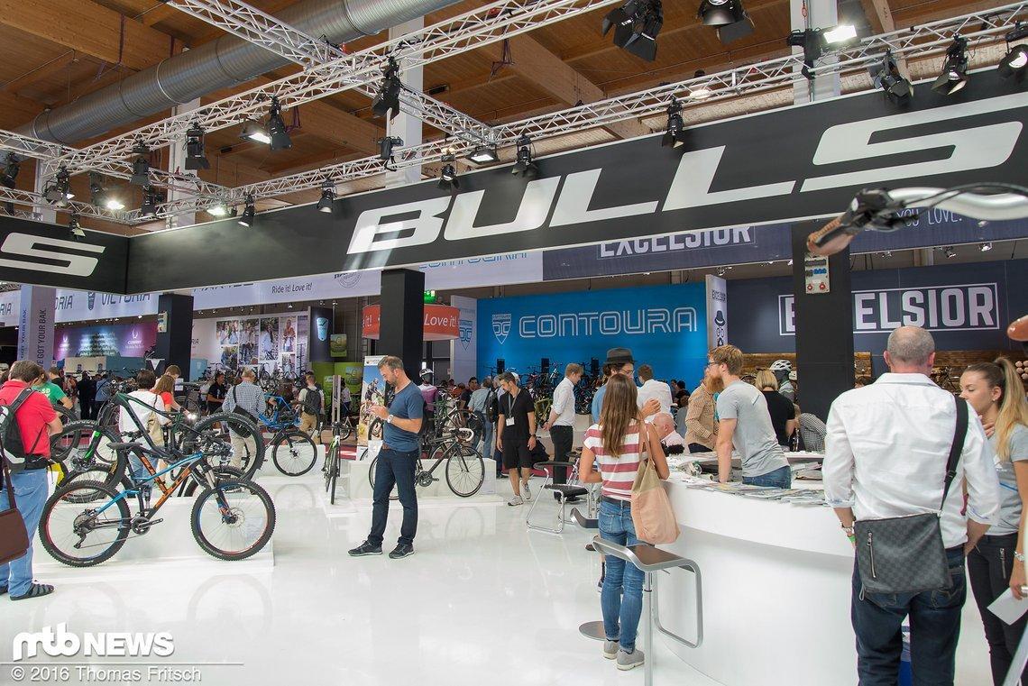 Der Stand von Bulls auf der Eurobike.
