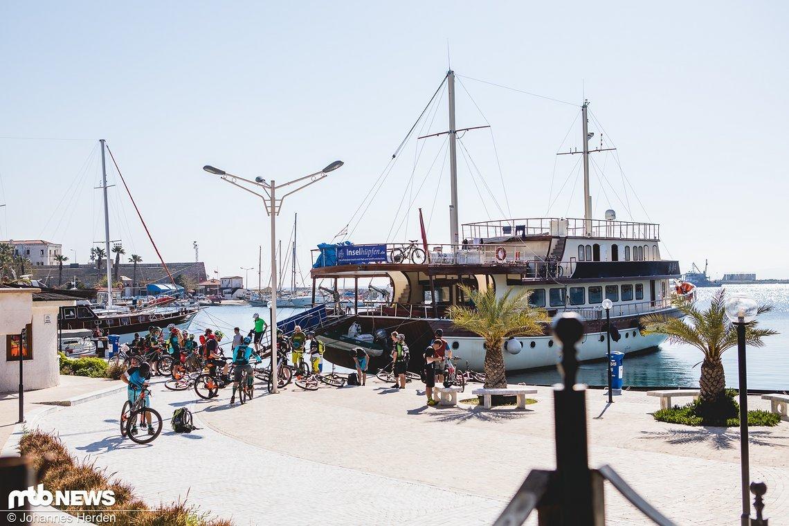 Im Hafen auf der Datça-Halbinsel.