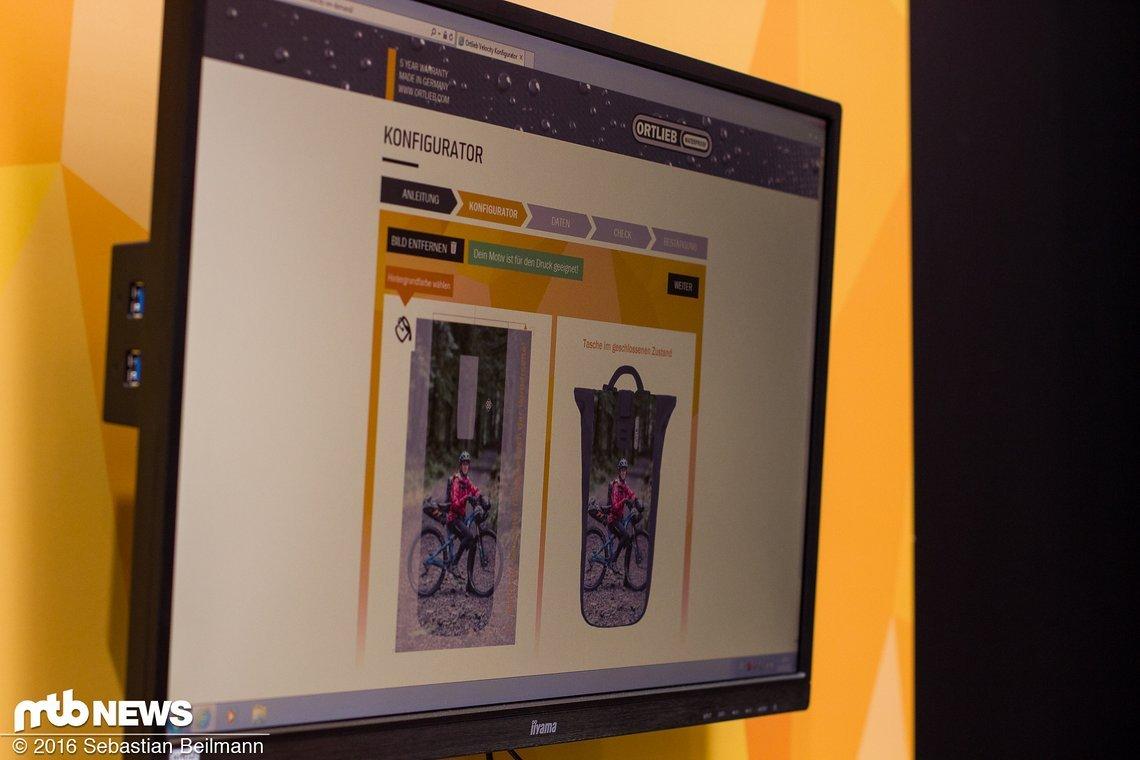 ... lässt sich mit dem Velocity On Demand Konfigurator jetzt mit eigenen Designs versehen
