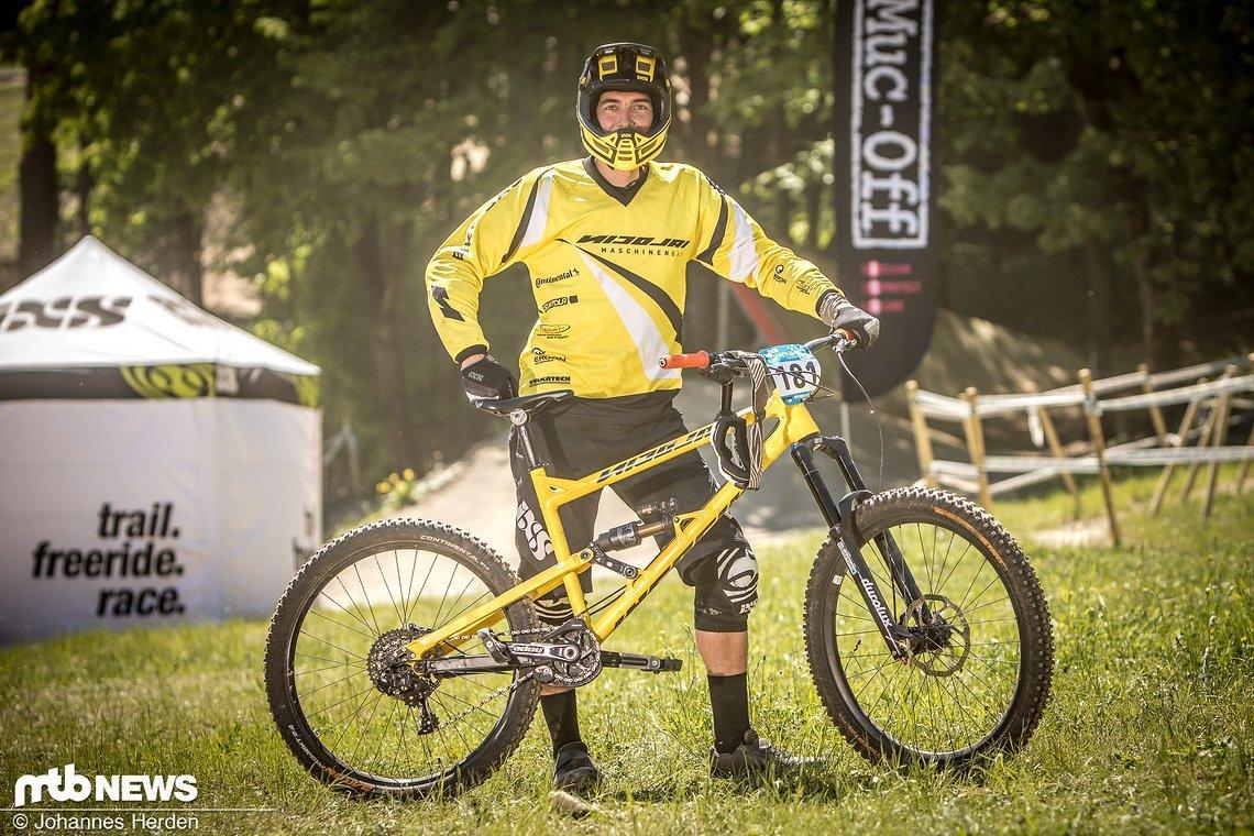 Daniel Jahn (GER), Team Nicolai/Bikebauer