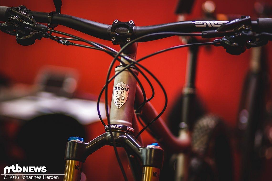 Seit 35 Jahren stellt Moots Fahrräder her
