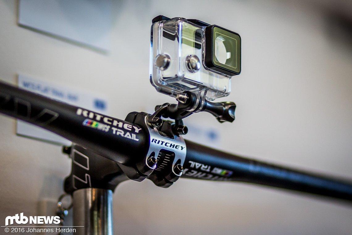 Neuer GoPro- und Sonstiges-Halter für die direkte GoPro-Montage