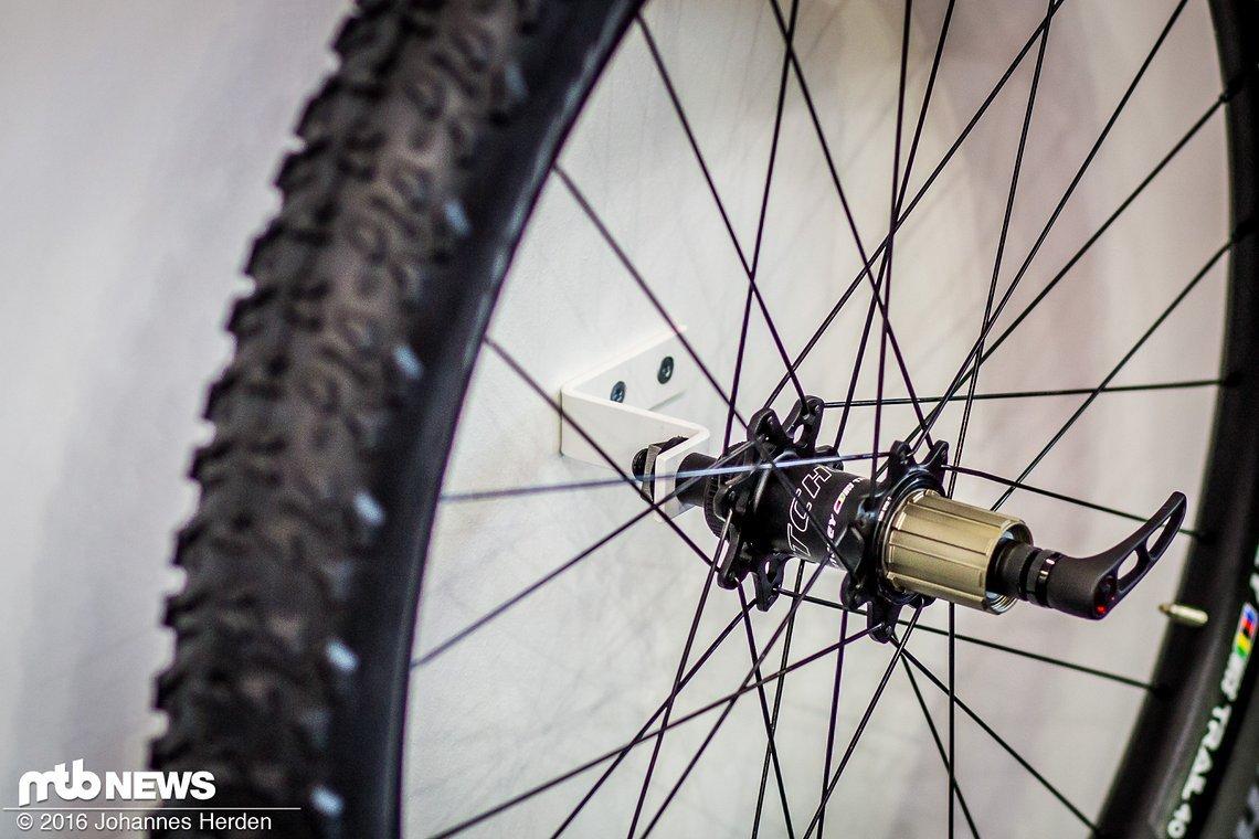 Der neue WCS Trail 40 Laufradsatz mit 35 mm Innenbreite