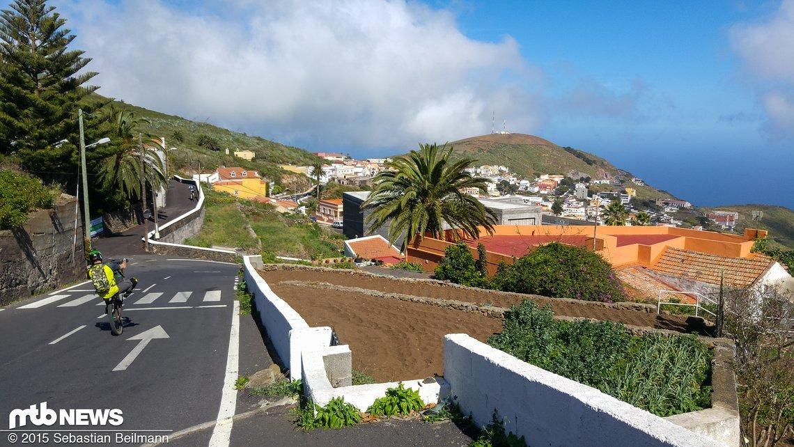 Wir durchqueren den kleinen Ort Valverde ...