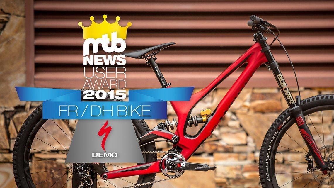 """Die Königsdisziplin """"FR/DH-Bike des Jahres"""" 2015"""