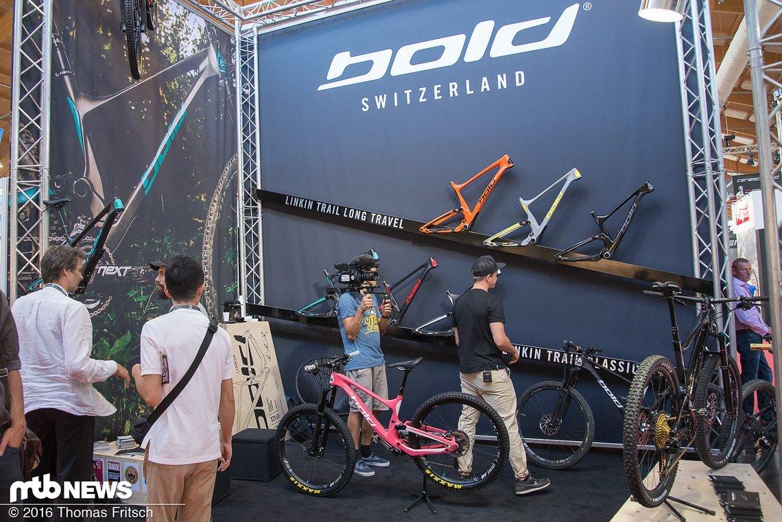 Stand von Bold Bikes auf der Eurobike 2016
