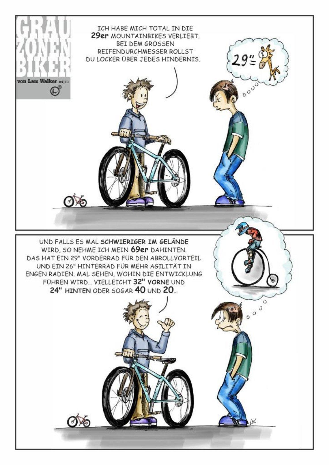Grauzonenbiker ist unserer Zeit voraus