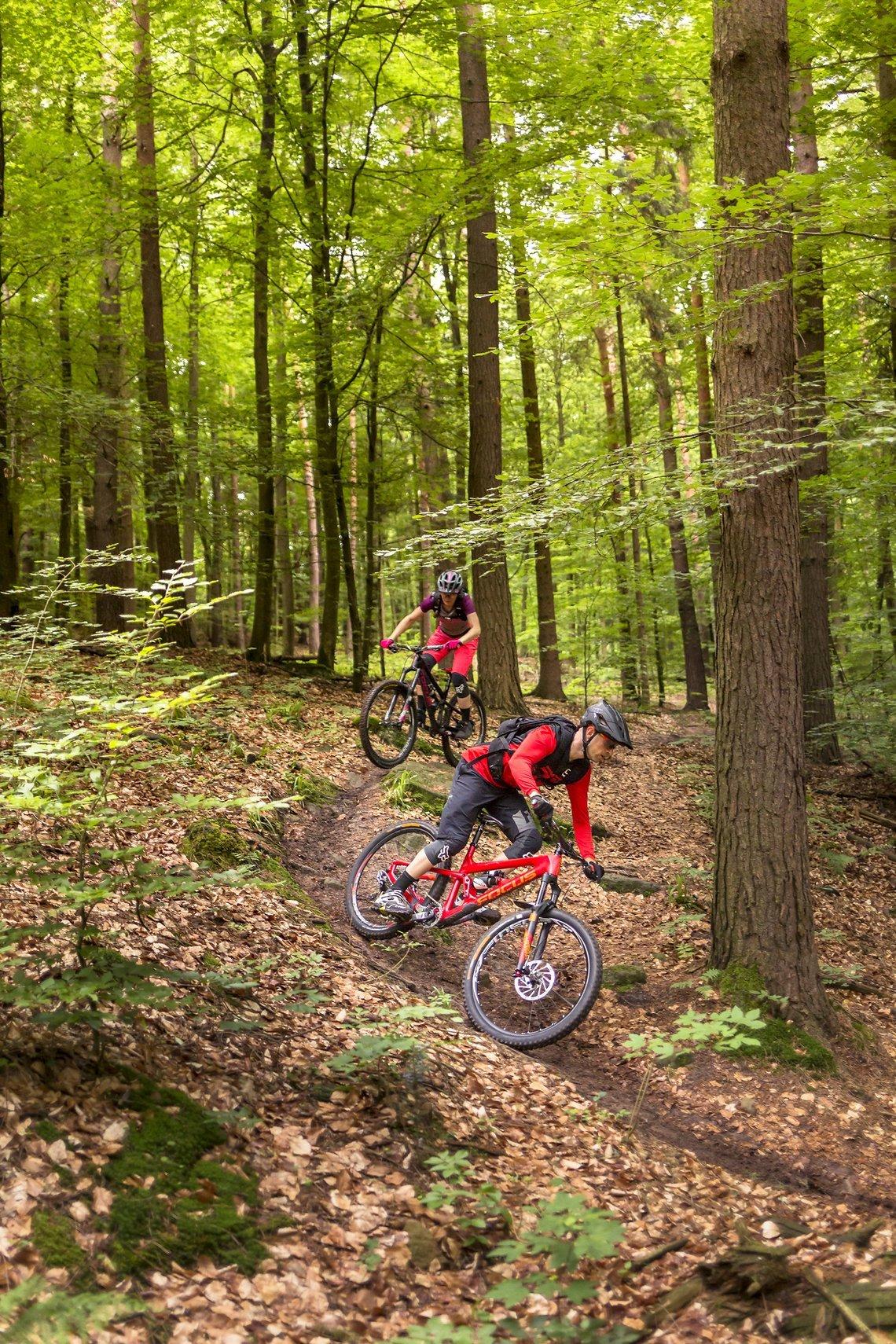 Mtb enkelt trail Stuttgart