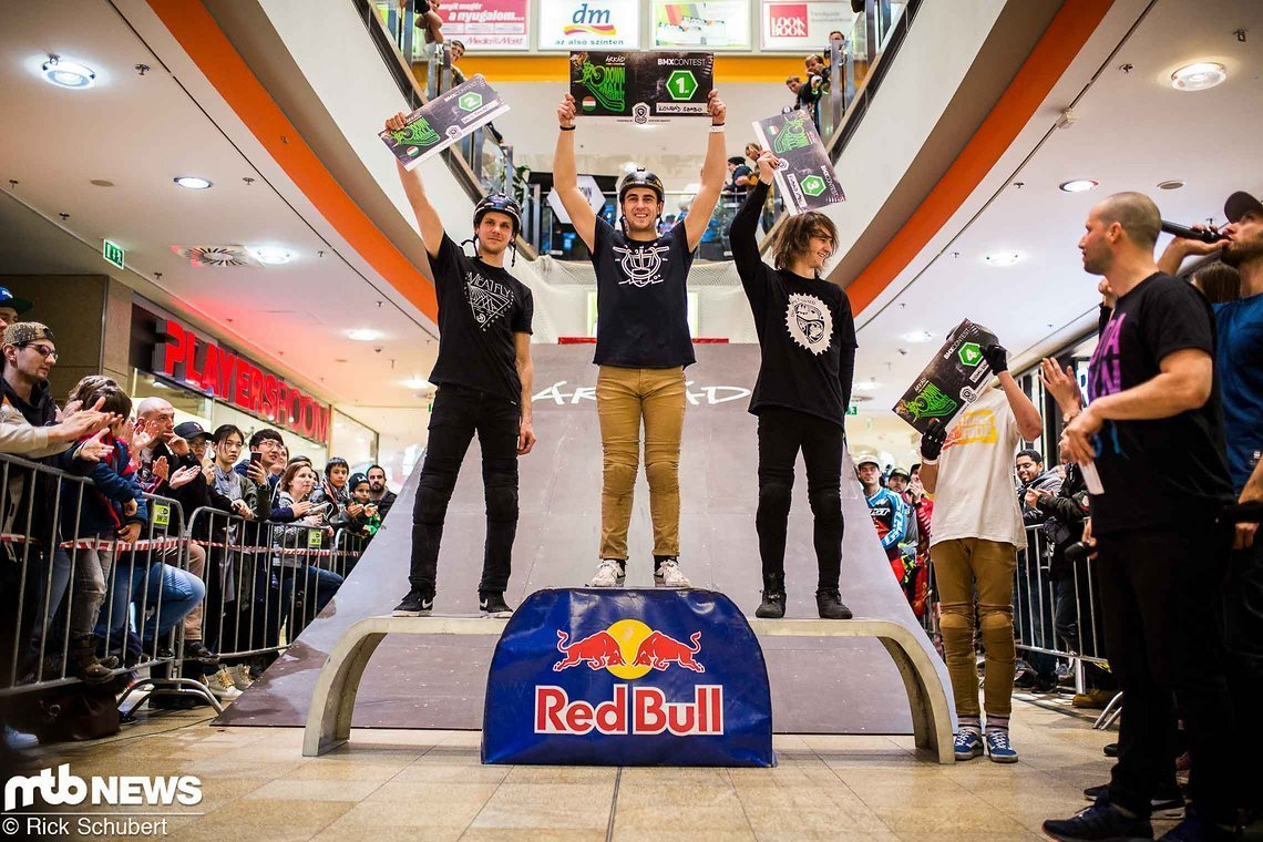 BMX Freestyle Podium