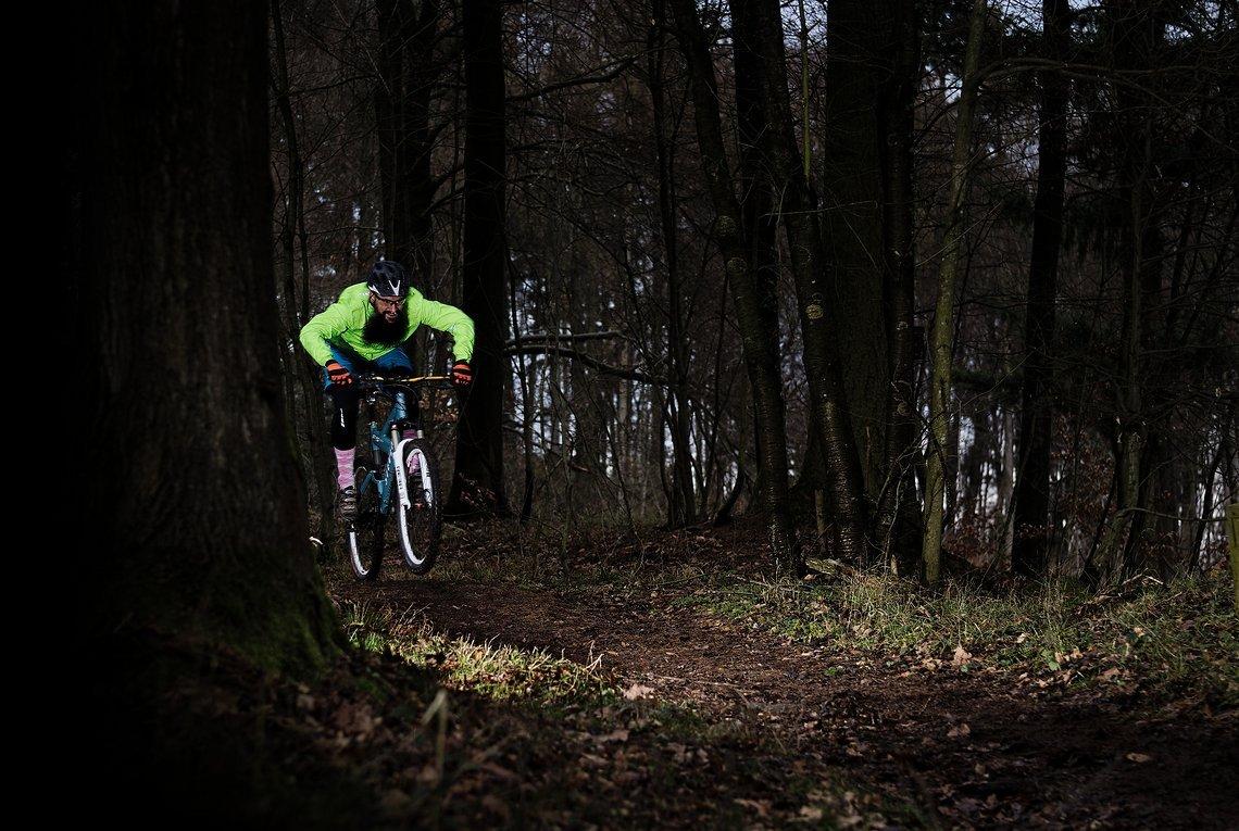 Warum fahre ich mein Bike? Ich will meine Grenzen ausloten und die Natur genießen.