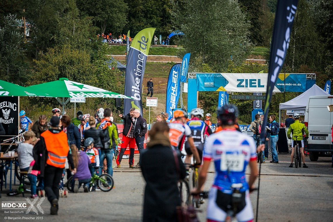 Neben der zuschauerfreundlichen Strecke hat das Rennen auch eine große EXPO zu bieten.
