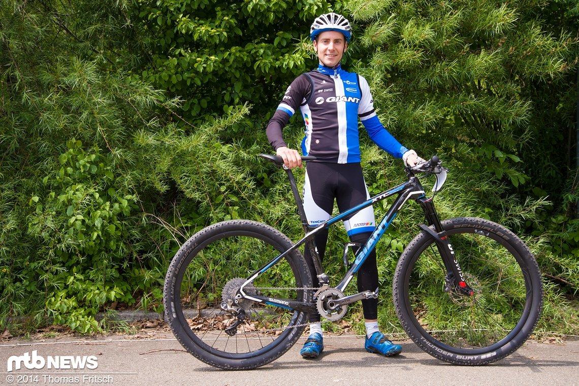 Fabian Giger vom Giant XC Pro Team.