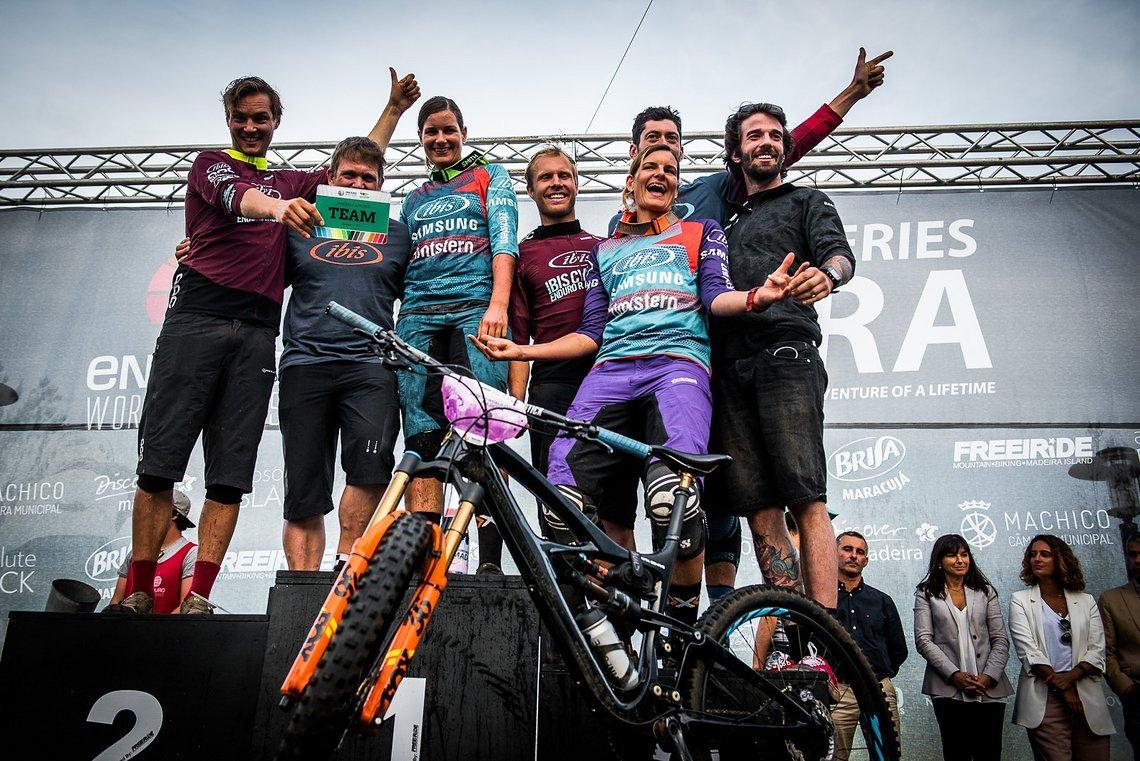 Mit dem dritten Platz in der Teamwertung in Madeira können wir uns nun stolz das schnellste Enduro Team der Welt nennen! Dave Trumpore