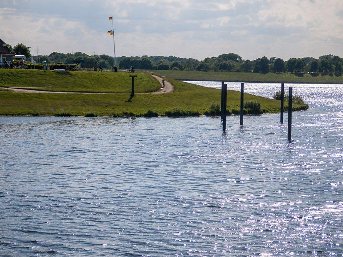 Der Alfsee, unendliche Weiten..........