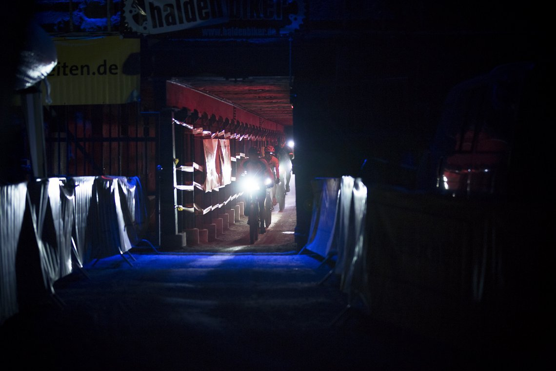 Tunnelimpressionen