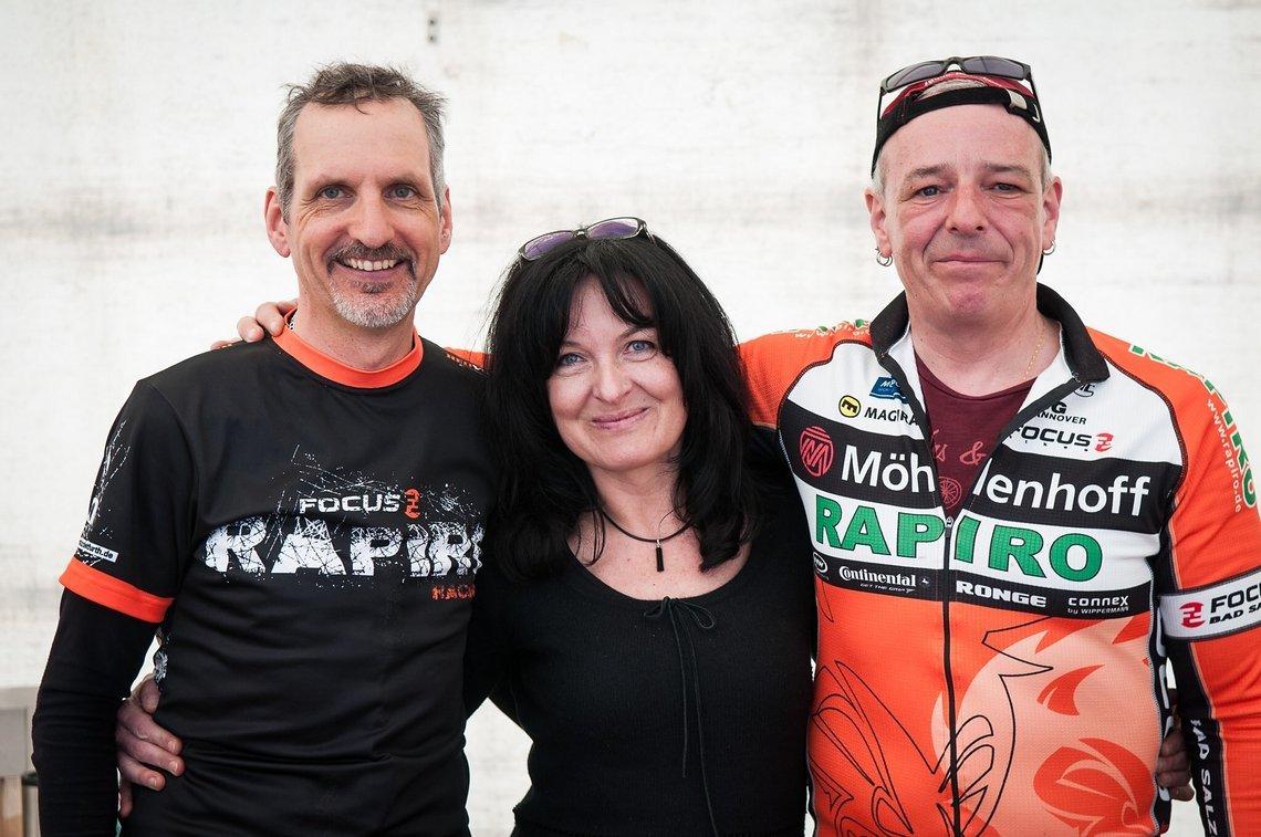 Jochen, Sonja und Tom