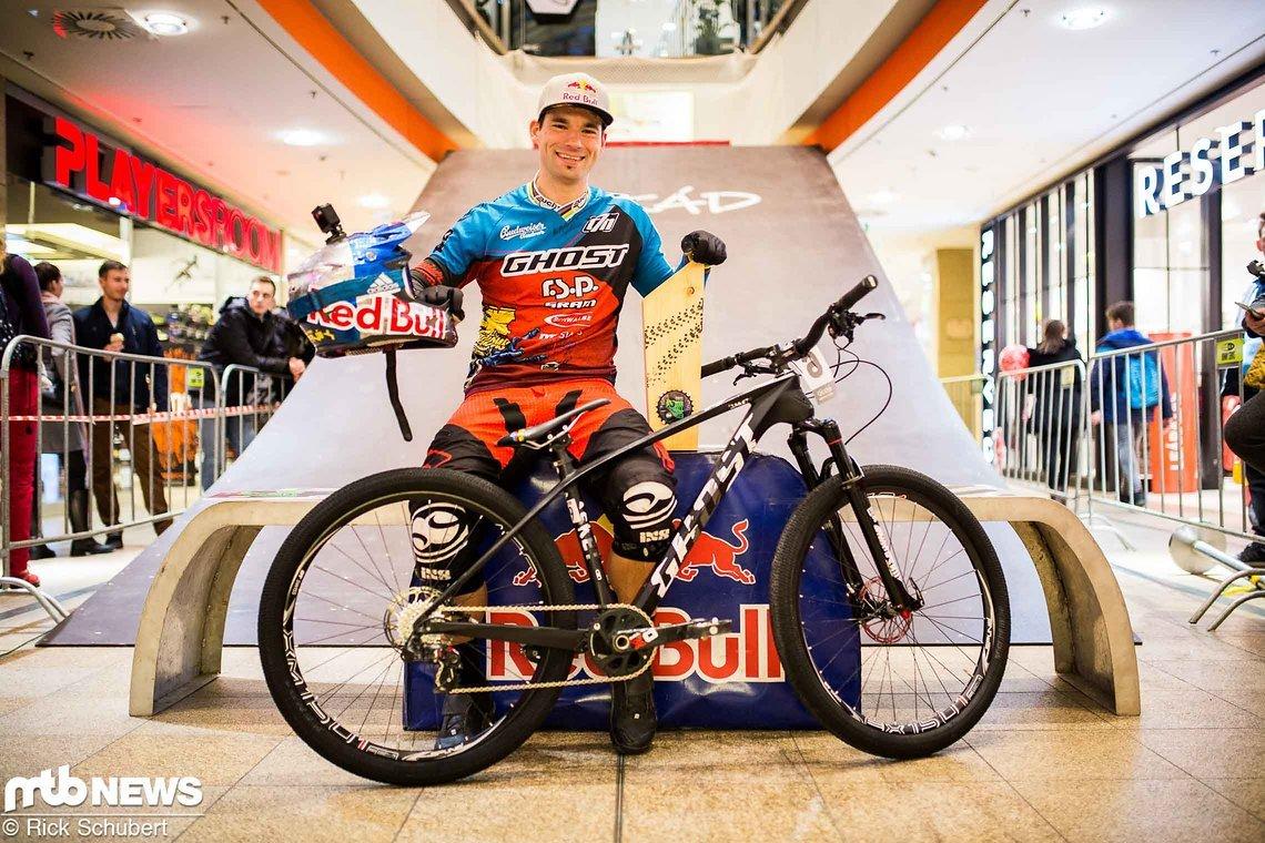 Zurück in alter Form: Tomas Slavik holt sich den Sieg beim Downmall in Budapest
