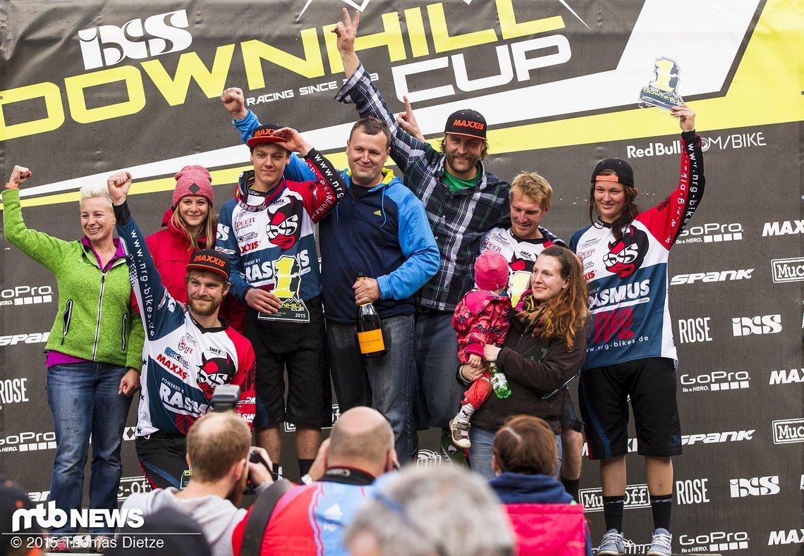 Das NRG Team hat fast alle Gesamtwertungen des GDC´s gewonnen / Thale