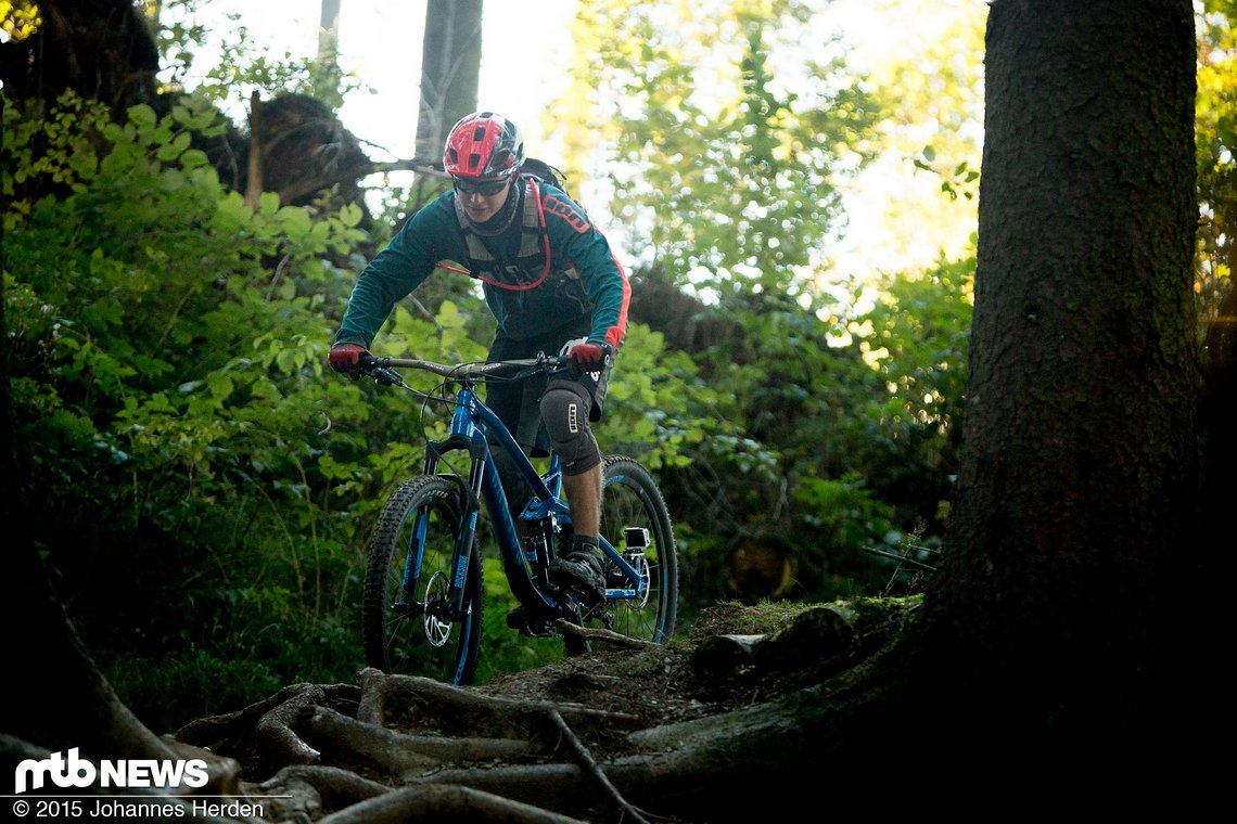 Der Leatt im Bikepark-Einsatz in Winterberg