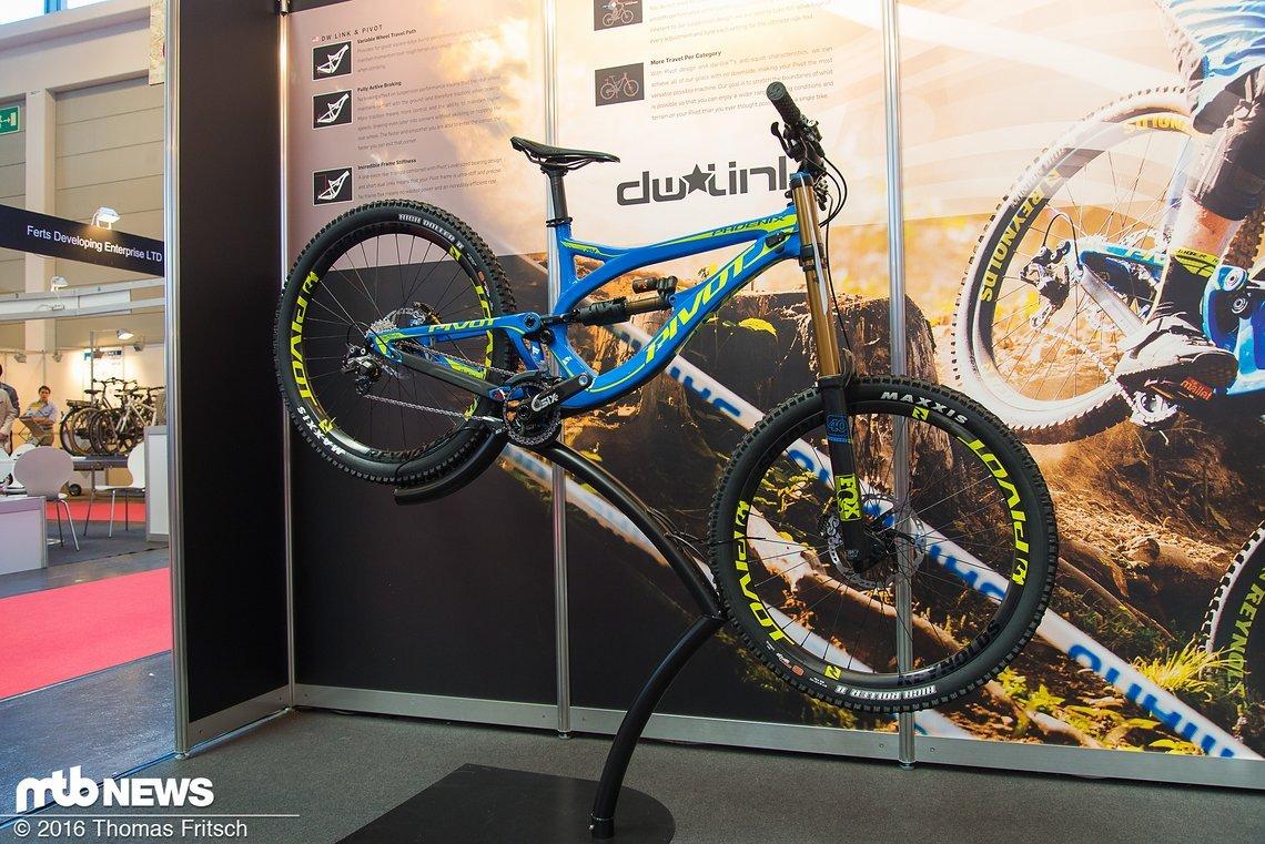 Das Pivot Phoenix DH-Bike wurde bereits Anfang des Jahres vorgestellt