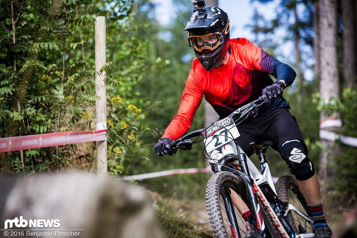 Zakarias Johanson stelle erneut sein können unter Beweis - Platz eins im Prolog und im Rennen am Sonntag