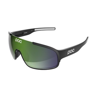 POC Crave-Uranium-Black-Green-Lens