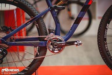 Die Hinterbaukinematik wurde an sämtlichen Bikes...