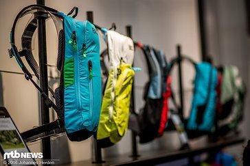 Evoc bietet auch 2017 Rucksäcke in vielen Farben
