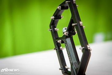 Aus Aluminium geschmiedete Pins sollen für beste Haltbarkeit sorgen