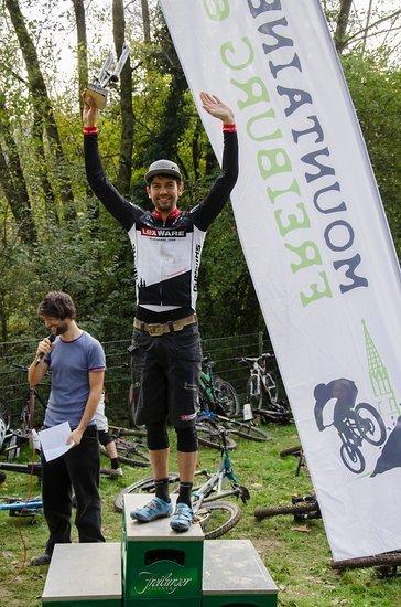 Wie im letzten Jahr der schnellste Biker bergauf: Heiko Gutmann