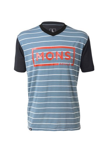 Mons Royale Redwood-V-T BT Lead Stripe-Black