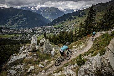 Trails ohne Ende beim Swiss Epic 2017.