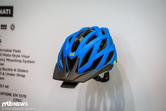 Der neue Lunati Trail-Helm ist nicht ganz so üppig ausgestattet wie der Interceptor ...
