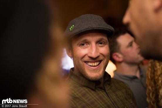 Ziehvater von Brendog – Steve Peat war auch vor Ort