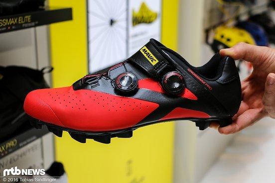 Neues Design haben auch die XC-Schuhe bekommen