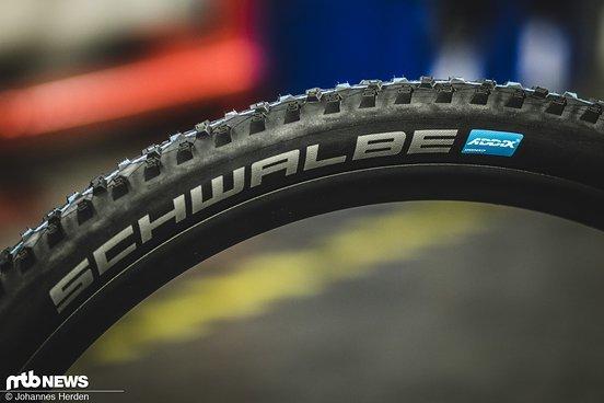 Reifen mit dem neuen Addix Speedgrip-Compound dürften zukünftig vor allem im XC- und Trail-Bereich häufig zu sehen sein