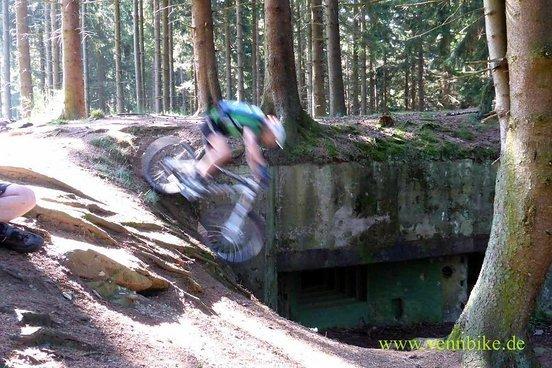 MacHartmann nimmt auch Bunker zum spielen, hier Bunker 132 im Buhlert.
