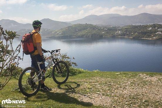 Wer runter will, muss zuerst hoch – auf der Insel Leros beim ersten Anstieg