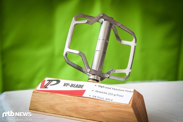 Passendes Pedal für's Titan-Bike: Das VP Blade