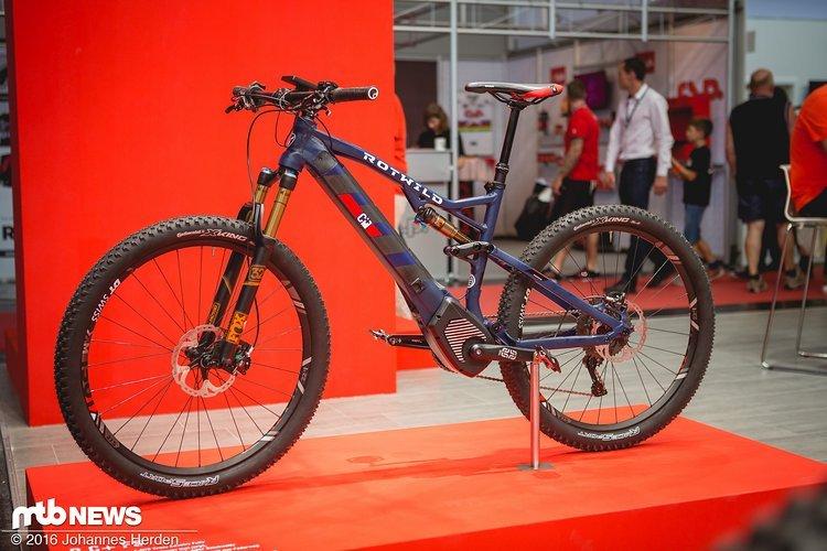 Die motorisierte Version des Cross-Country-Bikes
