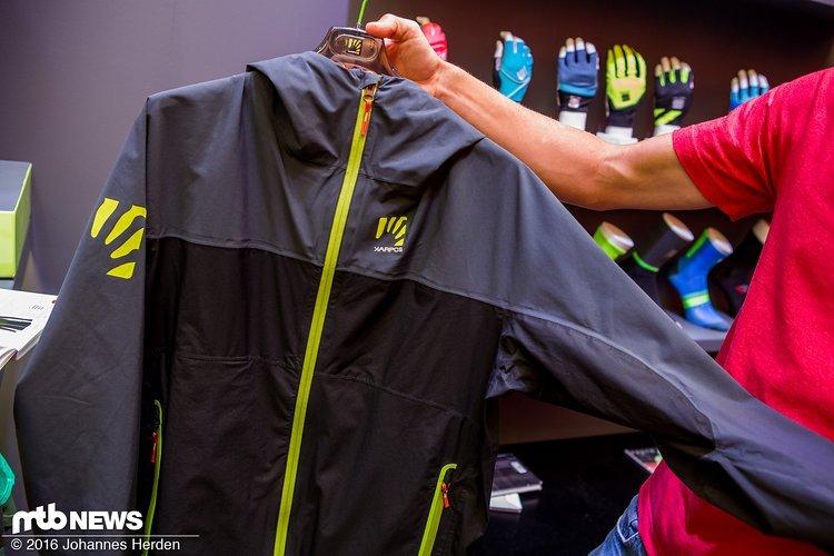 Die Vetta Evo Jacke kann etwas mehr ab und kommt mit 20.000 mm Wassersäule