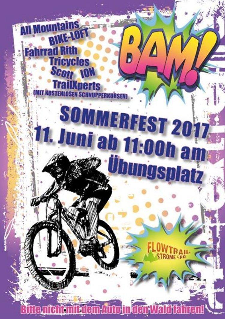 Flyer Sommerfest 2017